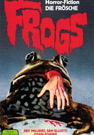 Frogs - German VHS cover (xs thumbnail)