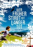 Wer früher stirbt, ist länger tot - German Movie Poster (xs thumbnail)