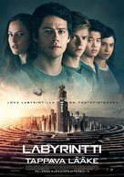 Maze Runner: The Death Cure - Finnish Movie Poster (xs thumbnail)