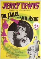 The Nutty Professor - Swedish Movie Poster (xs thumbnail)