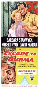 Escape to Burma - Australian Movie Poster (xs thumbnail)