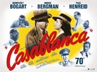 Casablanca - British Re-release poster (xs thumbnail)