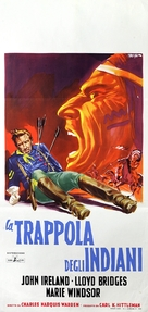 Little Big Horn - Italian Movie Poster (xs thumbnail)