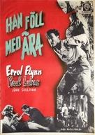 Uncertain Glory - Swedish Movie Poster (xs thumbnail)