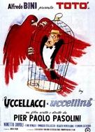 Uccellacci e uccellini - Italian Movie Poster (xs thumbnail)