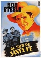 South of Santa Fe - Spanish Movie Poster (xs thumbnail)