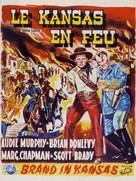 Kansas Raiders - Belgian Movie Poster (xs thumbnail)