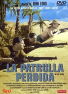 The Lost Patrol - Spanish Movie Cover (xs thumbnail)