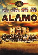 The Alamo - German DVD movie cover (xs thumbnail)