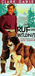 The Call of the Wild - German Movie Poster (xs thumbnail)