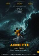 Annette - Czech Movie Poster (xs thumbnail)