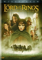 The Lord of the Rings: The Fellowship of the Ring - DVD movie cover (xs thumbnail)