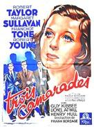 Three Comrades - French Movie Poster (xs thumbnail)