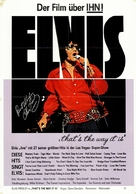 Elvis: That's the Way It Is - German Movie Poster (xs thumbnail)