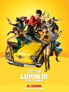 Lupin III: The First - Italian Movie Poster (xs thumbnail)