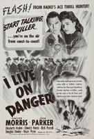 I Live on Danger - Re-release movie poster (xs thumbnail)