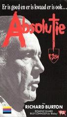 Absolution - Dutch VHS movie cover (xs thumbnail)