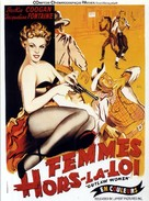 Outlaw Women - French Movie Poster (xs thumbnail)