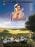 Antonia - Spanish Movie Poster (xs thumbnail)