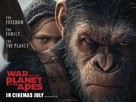 War for the Planet of the Apes - British Movie Poster (xs thumbnail)
