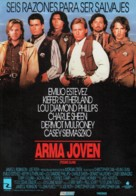 Young Guns - Spanish Movie Poster (xs thumbnail)