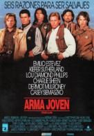 Young Guns - Spanish Movie Poster (xs thumbnail)