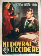 Please Murder Me - Italian Movie Poster (xs thumbnail)