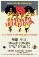 Singin' in the Rain - Uruguayan Movie Poster (xs thumbnail)