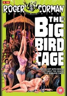 The Big Bird Cage - British DVD cover (xs thumbnail)