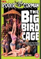 The Big Bird Cage - British DVD movie cover (xs thumbnail)