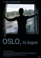Oslo, 31. august - German Movie Poster (xs thumbnail)