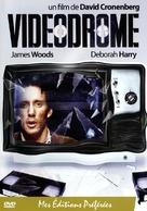 Videodrome - French DVD movie cover (xs thumbnail)