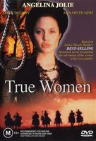 True Women - Australian DVD cover (xs thumbnail)