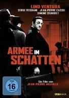 L'armée des ombres - German DVD cover (xs thumbnail)