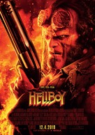 Hellboy - Finnish Movie Poster (xs thumbnail)