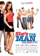 She's The Man - German Movie Poster (xs thumbnail)