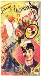 The Smiling Lieutenant - Spanish Movie Poster (xs thumbnail)