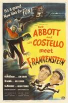 Bud Abbott Lou Costello Meet Frankenstein - Movie Poster (xs thumbnail)