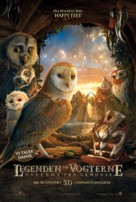 Legend of the Guardians: The Owls of Ga'Hoole - Danish Movie Poster (xs thumbnail)