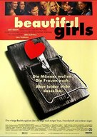 Beautiful Girls - German Movie Poster (xs thumbnail)