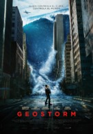 Geostorm - Spanish Movie Poster (xs thumbnail)