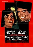 The Only Game in Town - German Movie Poster (xs thumbnail)