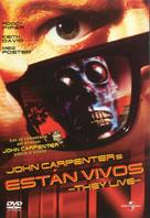 They Live - Spanish Movie Cover (xs thumbnail)