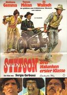 Il bianco, il giallo, il nero - German Movie Poster (xs thumbnail)
