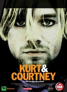 Kurt & Courtney - French poster (xs thumbnail)
