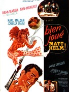 Murderers' Row - French Movie Poster (xs thumbnail)