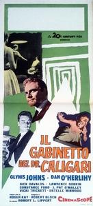 The Cabinet of Caligari - Italian Movie Poster (xs thumbnail)
