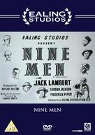 Nine Men - British Movie Cover (xs thumbnail)