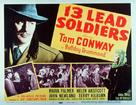 13 Lead Soldiers - Movie Poster (xs thumbnail)