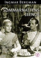 Sommarnattens leende - Swedish DVD cover (xs thumbnail)